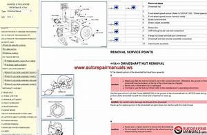 Mitsubishi Workshop Manuals  2005
