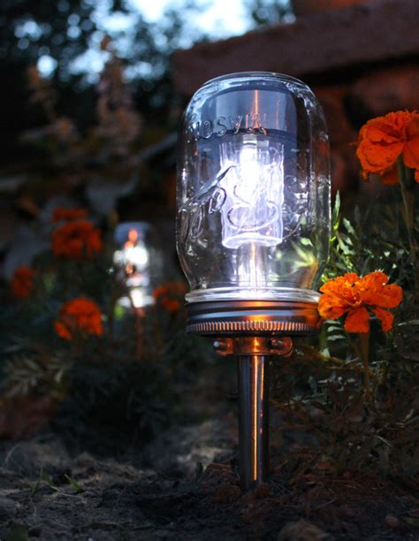make your own pathway lights 10 ideas for outdoor mason jar lights to add a romantic