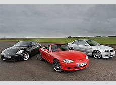 BMW E46 M3, Nissan 350Z or Mazda MX5 Your first