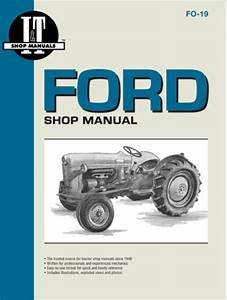 Ford Model Naa  Golden Jubilee  Tractor Service Repair