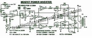 Free Schematic Diagram  1000w Power Inverter Circuit
