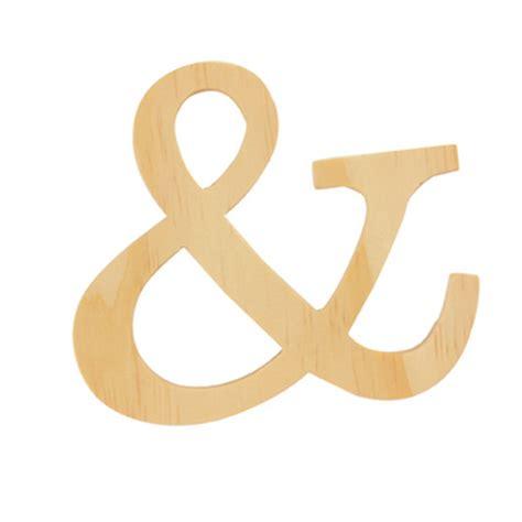 lettre cuisine en bois lettre en bois esperluette artemio chez rougier plé