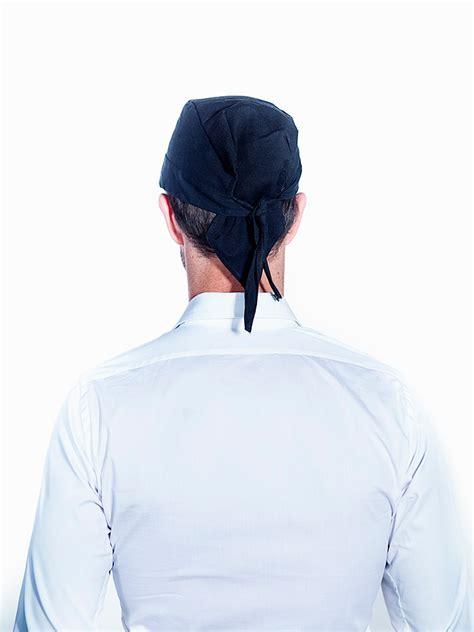 d駻ouleur cuisine bandana noir cuisine torchons et chiffons lavettes liteaux tabliers courts tabliers longs toques calots casquettes et bandanas