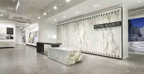 showroom renovation stone source