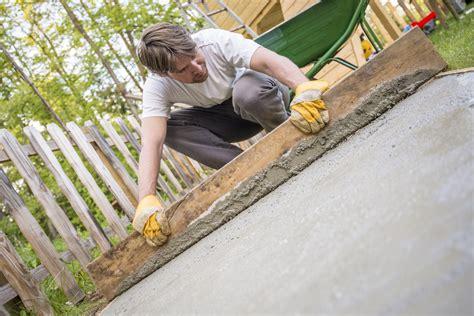 fundament selber machen fundament betonieren selber machen 187 so geht s