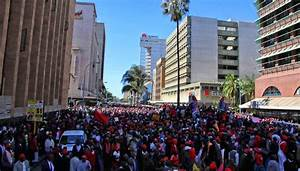 Zimbabwe Elections: Opposition MDC protests for electoral ...