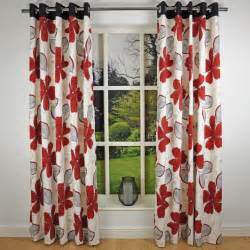 Insulated Curtain Panels Target by Red Flower Patterned Curtains Red And White Patterned