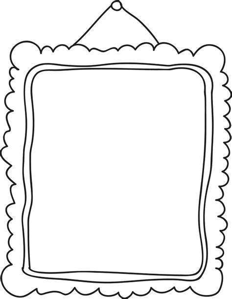 picture frame template frame clip black and white clipart panda free clipart images