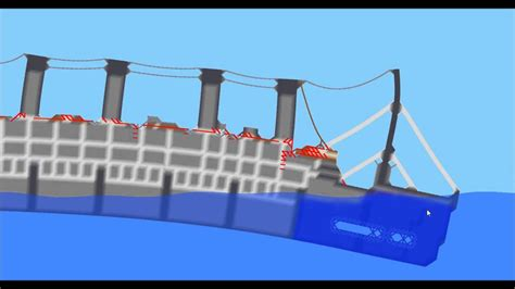 sinking ship simulator the rms titanic sinking ship simulator the rms titanic