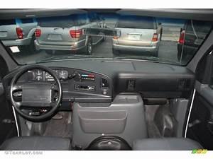 1995 Ford E Series Van E350 Xl Cargo Van Grey Dashboard Photo  60919667