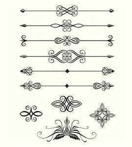 Free Vector Divider Lines