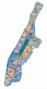 Plan De Manhattan : plan et carte des 5 arrondissements boroughs et ~ Melissatoandfro.com Idées de Décoration