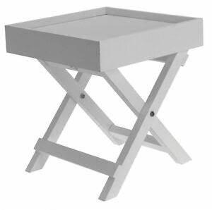 Couchtisch Weiß Klein : dekorativer beistelltisch weiss holz tisch klein ~ Watch28wear.com Haus und Dekorationen
