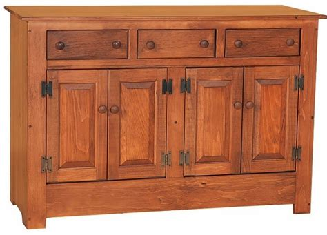 Pine Sideboards And Buffets by Pine Wood Farmhouse Buffet From Dutchcrafters Amish Furniture