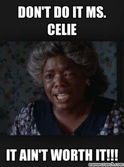 The Color Purple Meme - miss celie quotes quotesgram