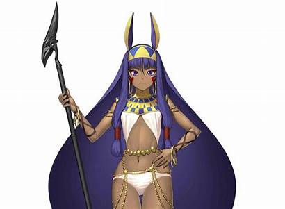 Fate Nitocris Grand Order Caster Typemoon Moon