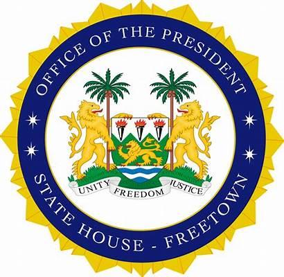 Seal Presidential President Sl Leone Sierra Transparent