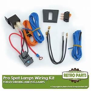 Driving  Fog Lamps Wiring Kit For Chevrolet Orlando