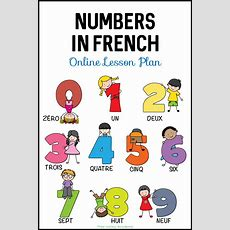 Learn Numbers In French  Lesson Plan