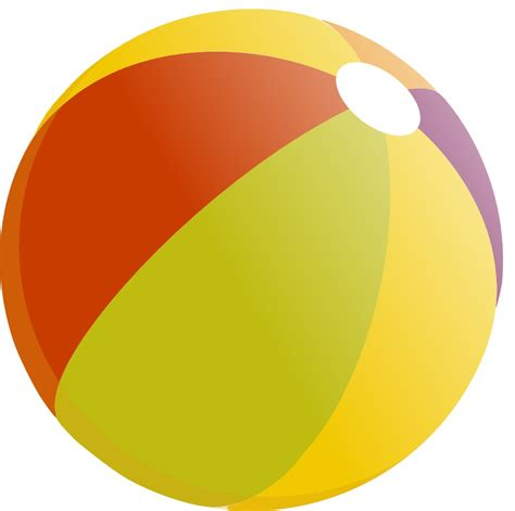 chaise de plage ballon de plage multicolore 540674bc jpg