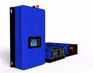 1000w Solar Grid Tie Inverter With Limiter  Dc45 90v To 230v Ac Mppt Pure Sine Wave Power