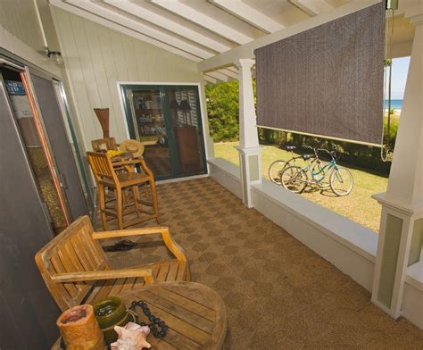 baja exterior roll up solar shade cool house patio door