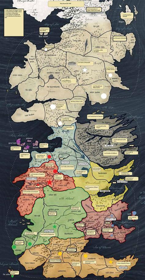 ideas  map  westeros  pinterest