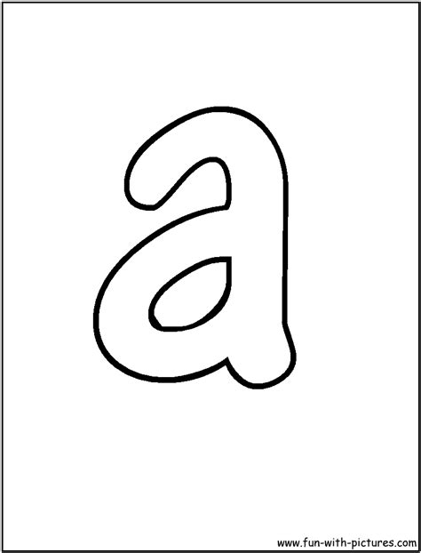 Bubble Letters Coloring Pages