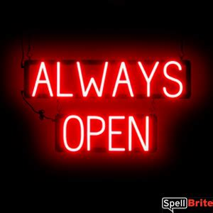 open signs spellbrite led   neon