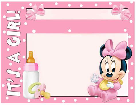 minnie mouse baby shower invitation  invitation
