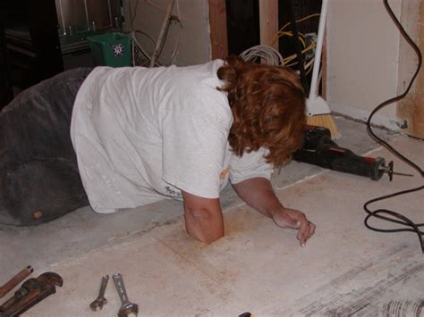 laminate flooring  linoleum  particle board