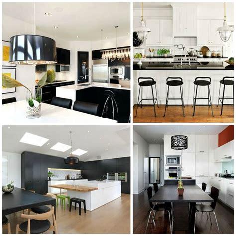 cuisine moderne noir et blanc deco cuisine blanc et with deco cuisine
