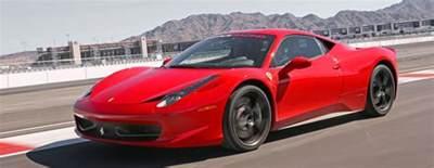 las vegas race track drive a 458 italia