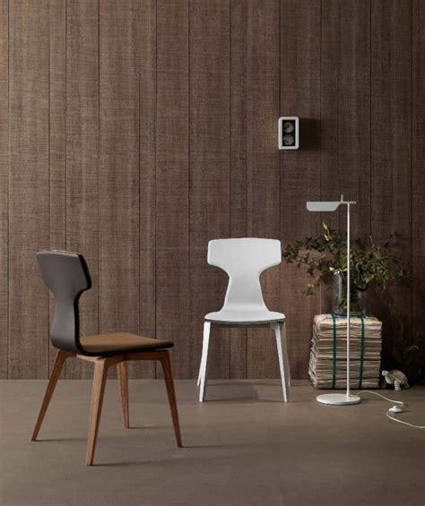 Sedie Imbottite Per Sala Da Pranzo by Sedia Moderna Per Sala Da Pranzo In Legno Imbottita