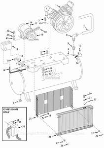 Campbell Hausfeld Ci103120hms Parts Diagram For Air