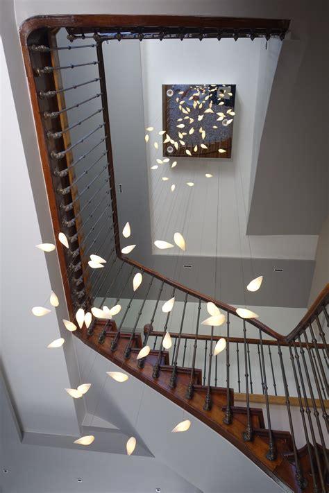 desenfumage cage d escalier installation sur mesure dans une cage d escalier 224 7m de haut lights beauetbien design