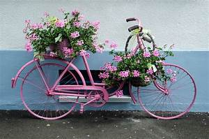 I — SUBLIPALAWAN Style : Bicycle Flower Planters for the