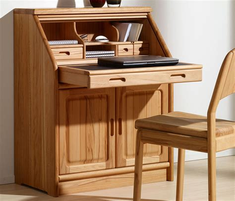 bureau office home office furniture solid wood wharfside