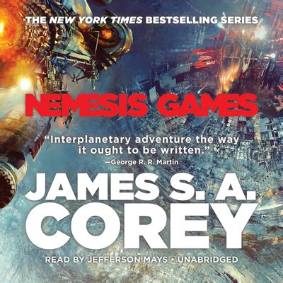 nemesis games audiobook written  james   corey