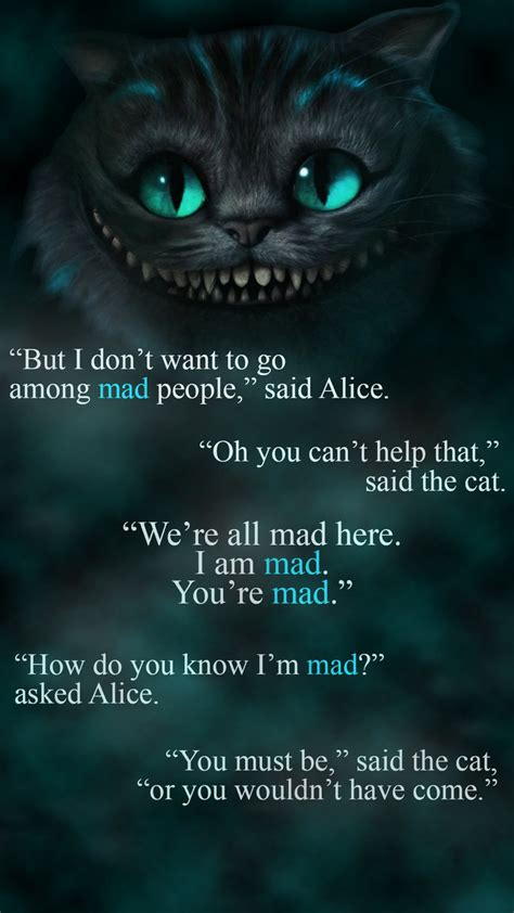 By The Cheshire Cat Quotes Quotesgram