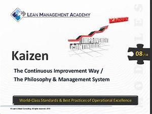 Kaizen The Continuous Improvement Way Preview