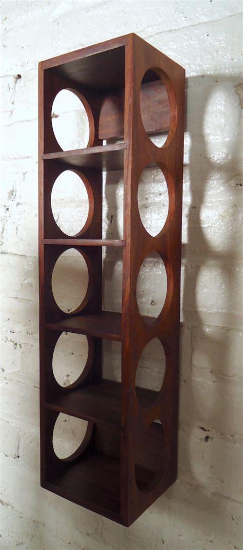 vintage modern wall hanging wine racks  sale  stdibs