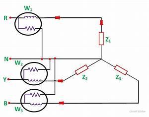 Measurement Of Three Phase Power   Three Wattmeter Method
