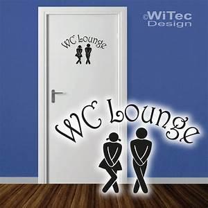 Wandtattoo Wc Sprüche : t raufkleber wc lounge wandtattoo bad t r aufkleber sticker ~ Markanthonyermac.com Haus und Dekorationen