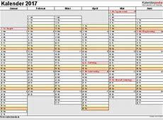 Kalender 2017 zum Ausdrucken als PDF 16 Vorlagen, kostenlos