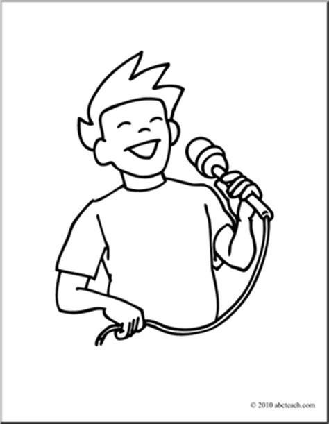 children singing clipart black and white singing black and white clipart clipart suggest