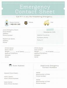 printable emergency plan template emergency preparedness With contact strategy template