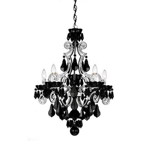 photos schonbek cappela 5 light white chandelier in