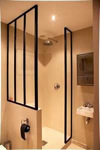 Deco Salle D Eau : salle d 39 eau avec ferronneries sur mesure 17rb pinterest ~ Teatrodelosmanantiales.com Idées de Décoration