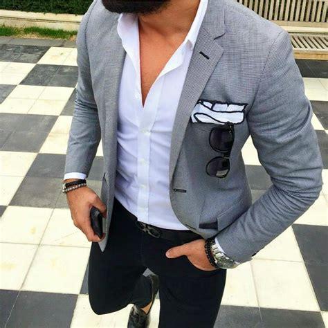 tshirt coachella grey open white shirt with grey jacket and black 39 s